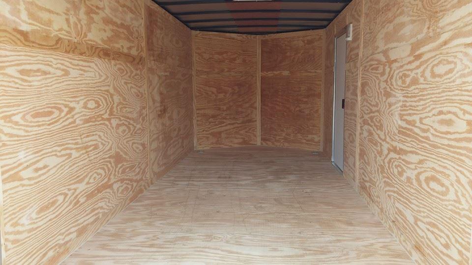 storage trailer inside