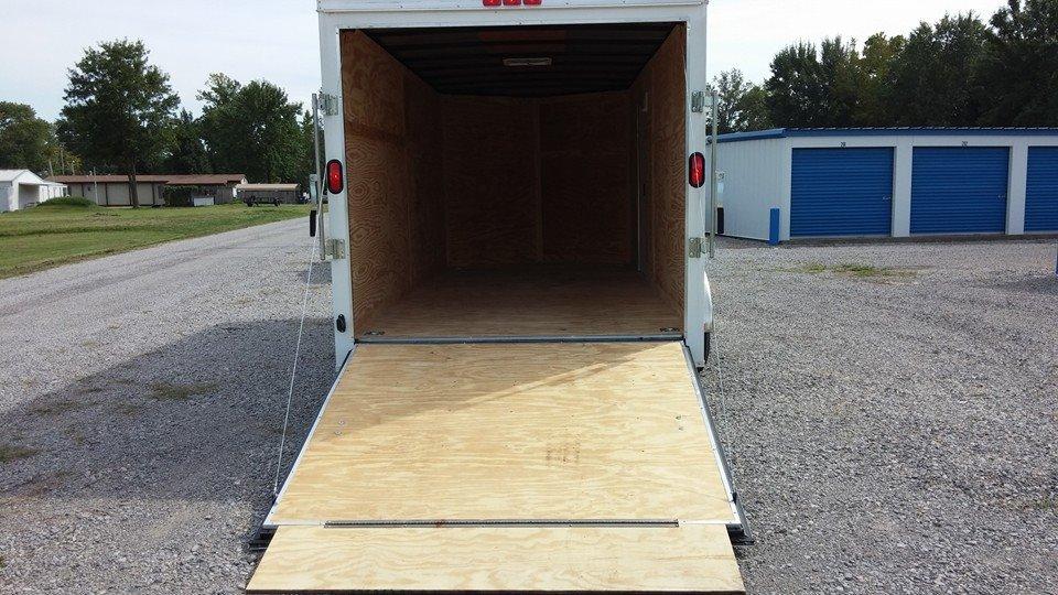 storage trailer ramp